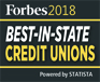 Forbes 2018: BEST-IN-STATE Credit Unions